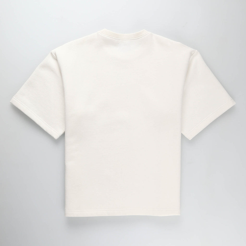 MOST HATED FLEECE TEE- WHITE