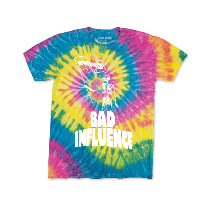 "MOST HATED ""BAD INFLUENCE"" 420 LIMITED TEE - TIE DYE (PRE-SALE)"