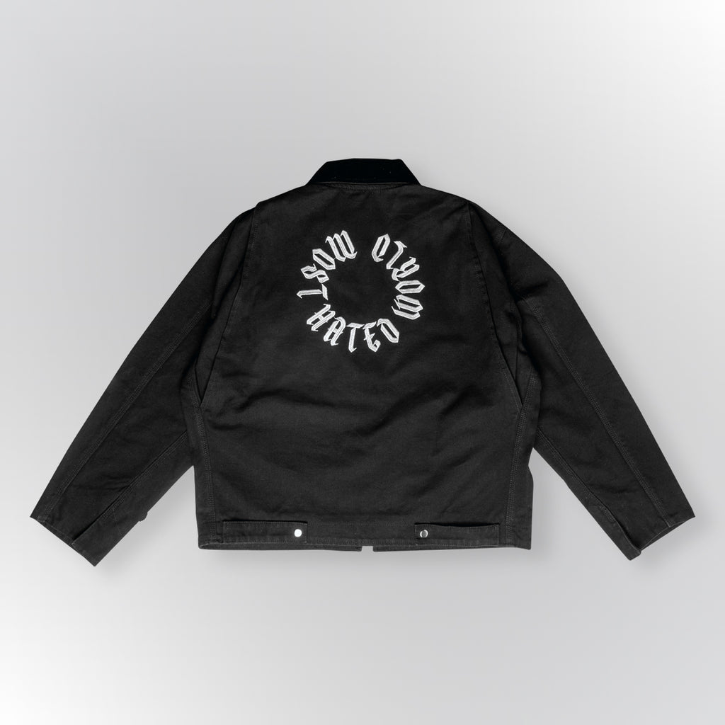 MOST HATED WORK JACKET - BLACK