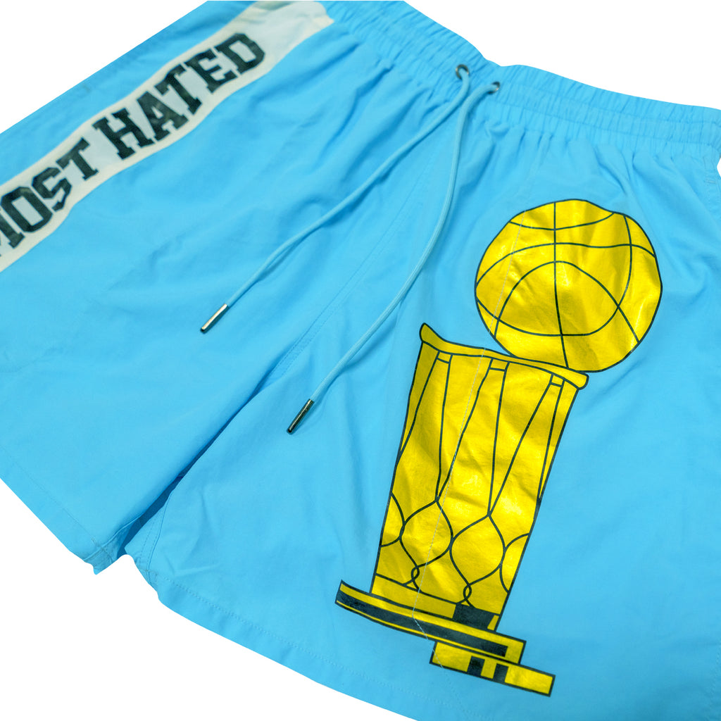Most Hated Championship Shorts - Sky Blue
