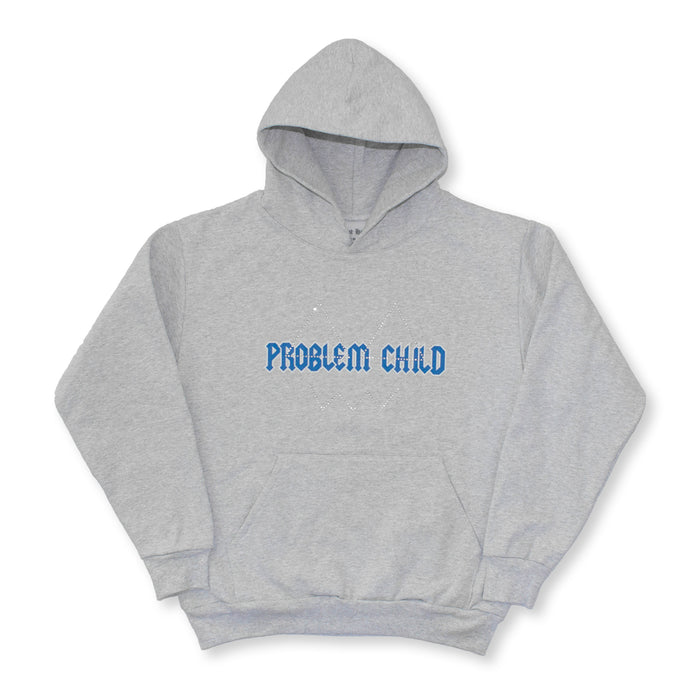 "MOST HATED ""PROBLEM CHILD"" HOODIE - ATHLETIC GREY"