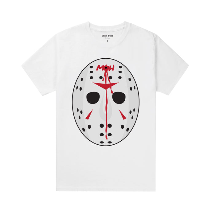 Most Hated Jason Tee -  White