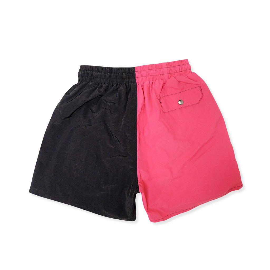 Most Hated Neon Summer Shorts - Pink / Black