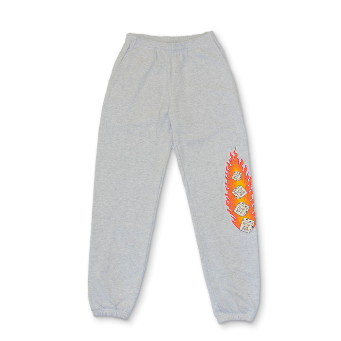 "MOST HATED ""DICE"" SWEATS - ATHLETIC GREY"