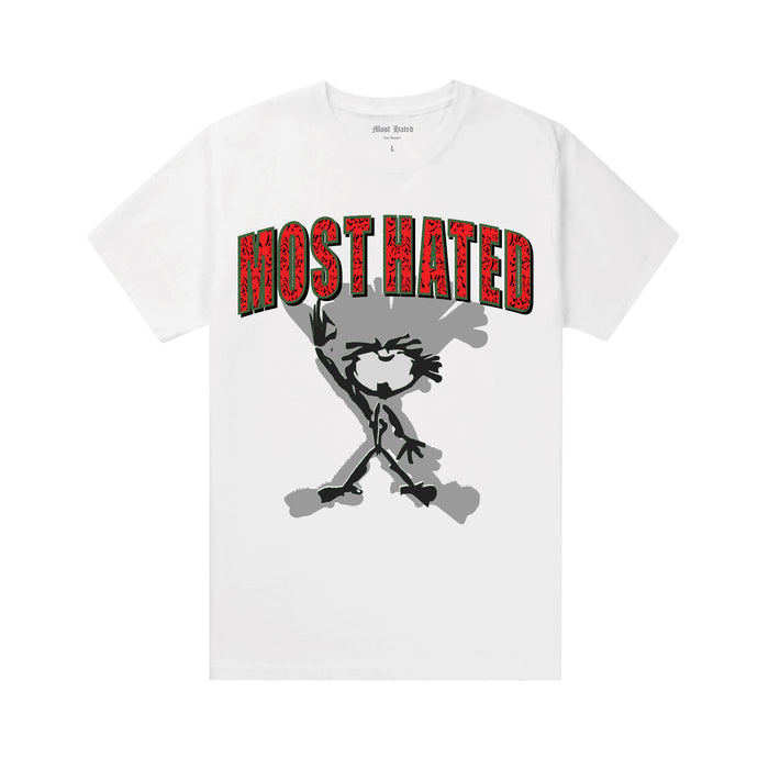 Most Hated Swaggy Tee -  White