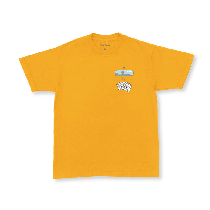 "MOST HATED ""IHE"" TEE - GOLD"