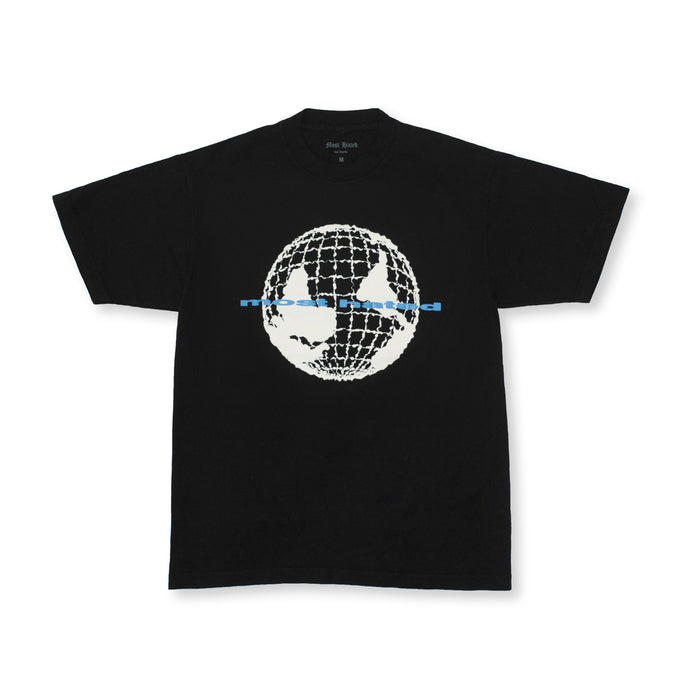 "MOST HATED ""WORLD UPSIDE DOWN"" TEE - BLACK"