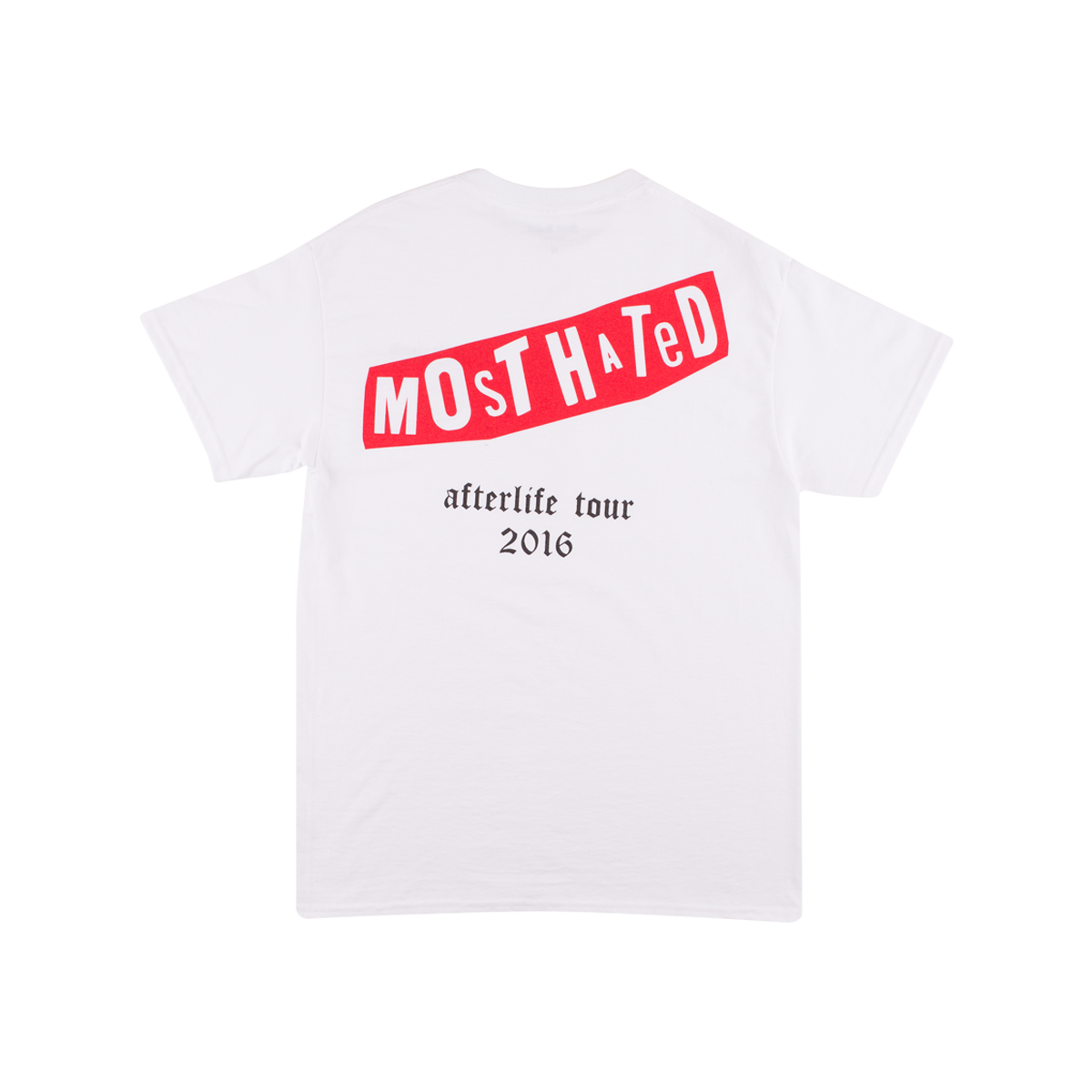 Survived / Afterlife Tour Tee - White