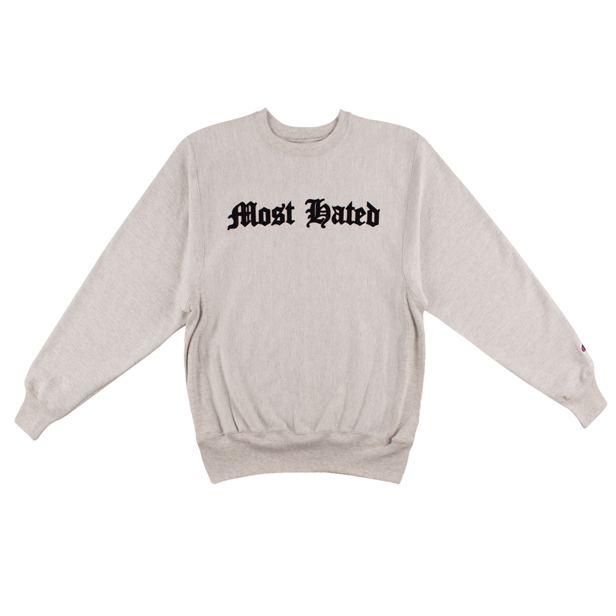 Most Hated Champion Reverse-weave Sweatshirt - Grey