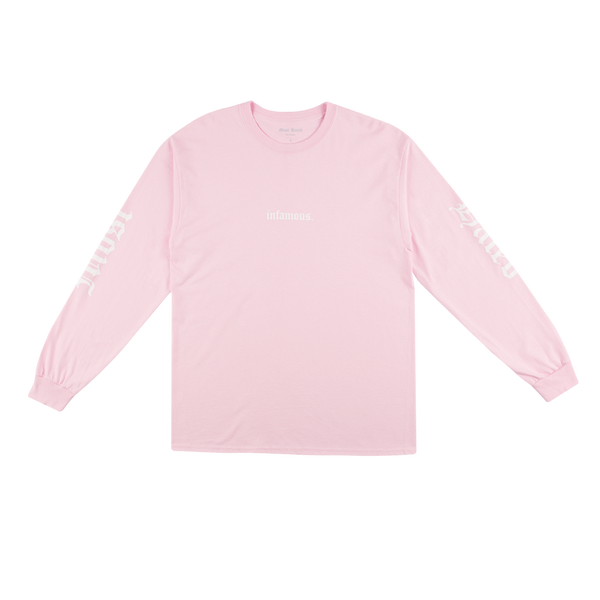 Most Hated Infamous L/S Tee - Pink