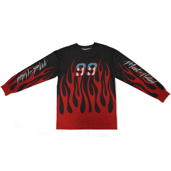 Most Hated Racing Jersey - Black