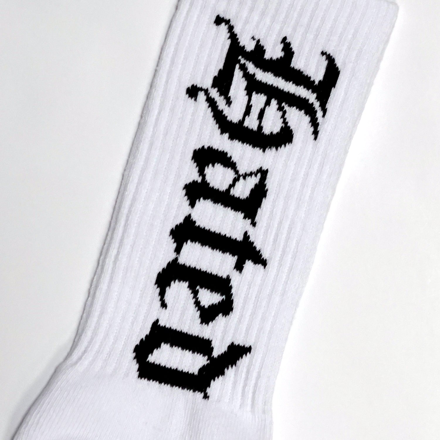 MHP Most Hated Socks - White