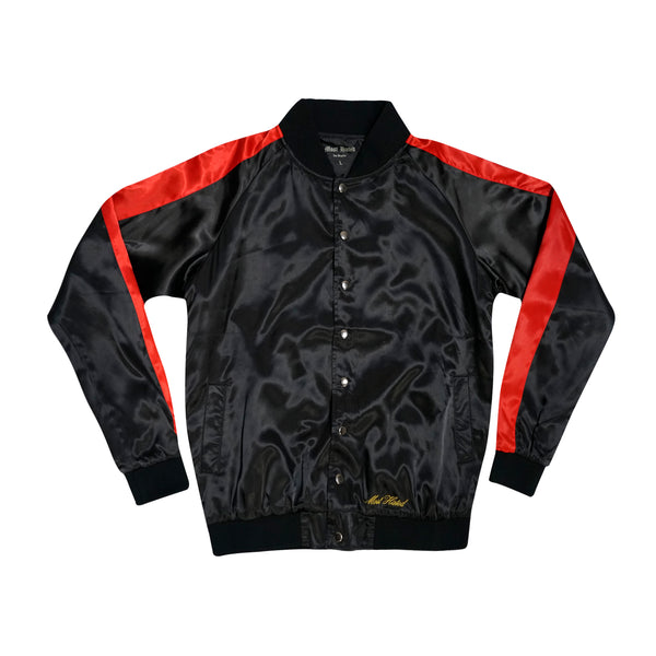 Moon Motel Satin Jacket - Black