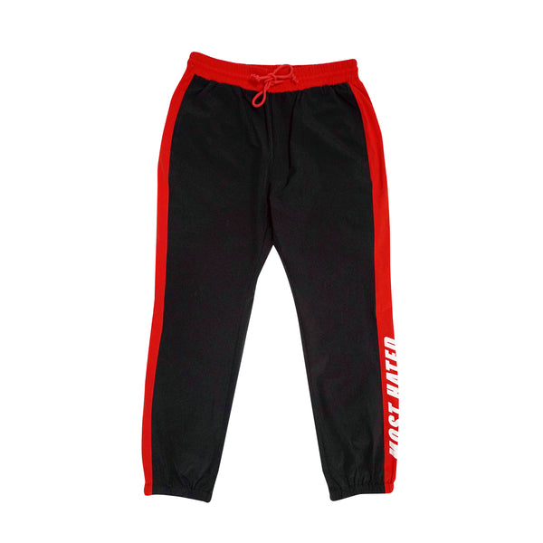 Most Hated Nylon Warm Up Pants - Black