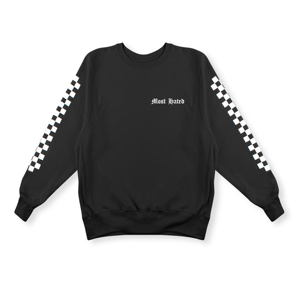 Most Hated Racing Crewneck - Black