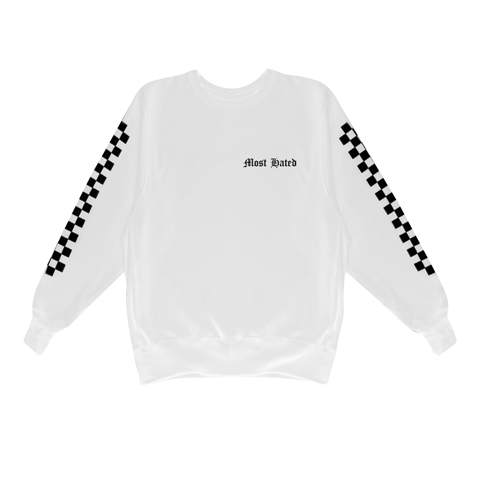 Most Hated Racing Crewneck - White