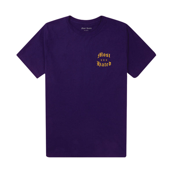 Most Hated Logo Tee - Purple