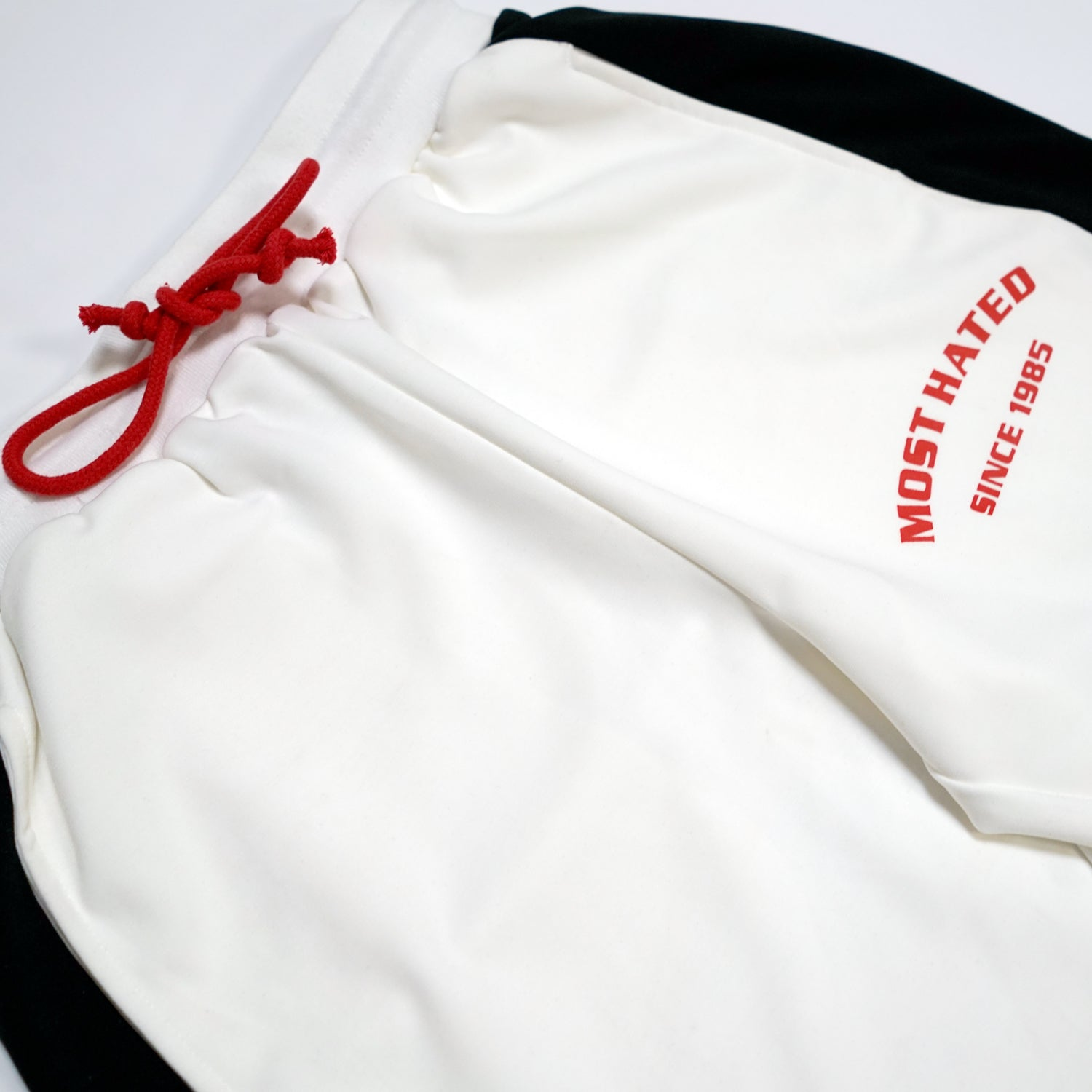 Most Hated Track Pants - White