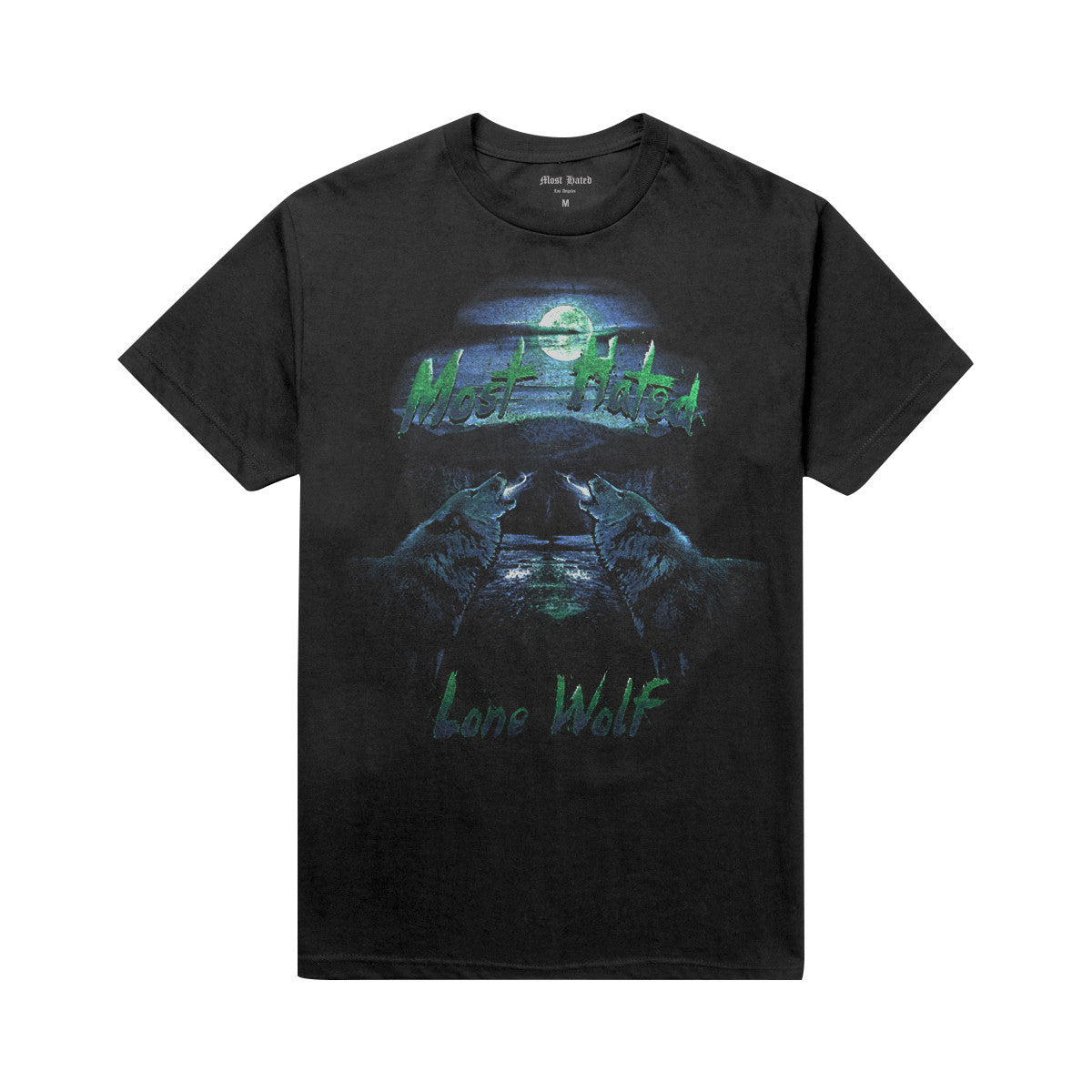 Most Hated Lone Wolf Tee - Black
