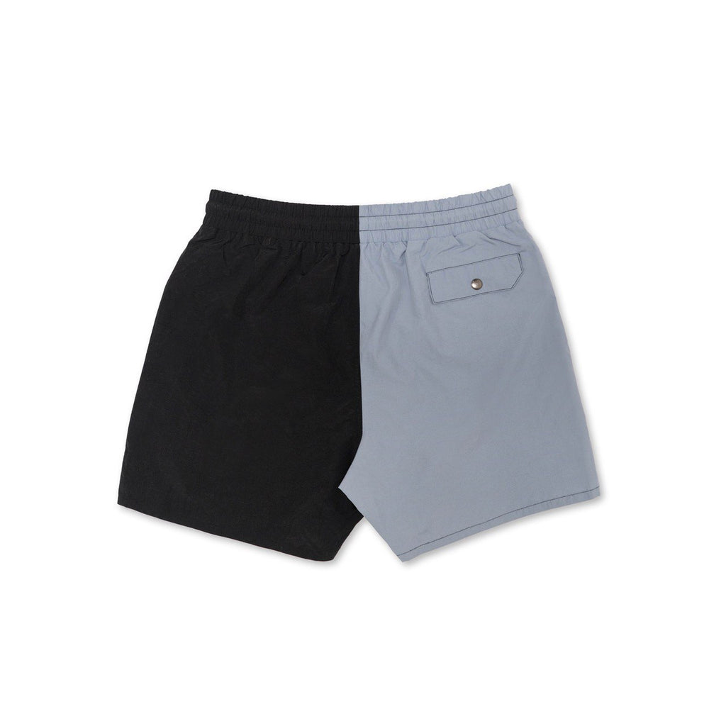 Most Hated Neon Summer Shorts - Gray / Black