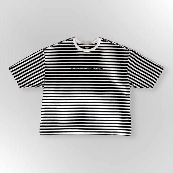 MOST HATED STRIPED TEE - BLACK/WHITE