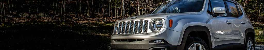 Renegade with a number of great Jeep accessories installed