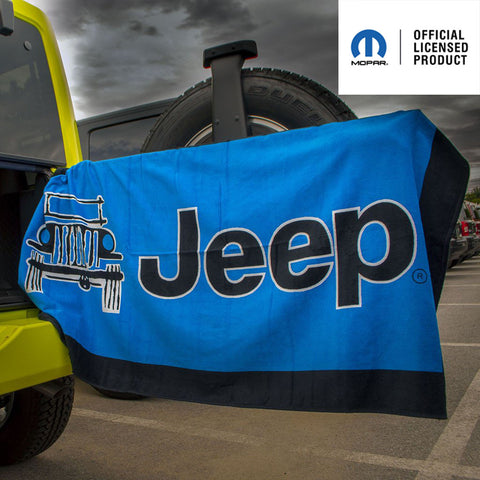 Mopar Wrangler Mountain Edition Tire Cover (Wrangler CJ, YJ, TJ, & JK)