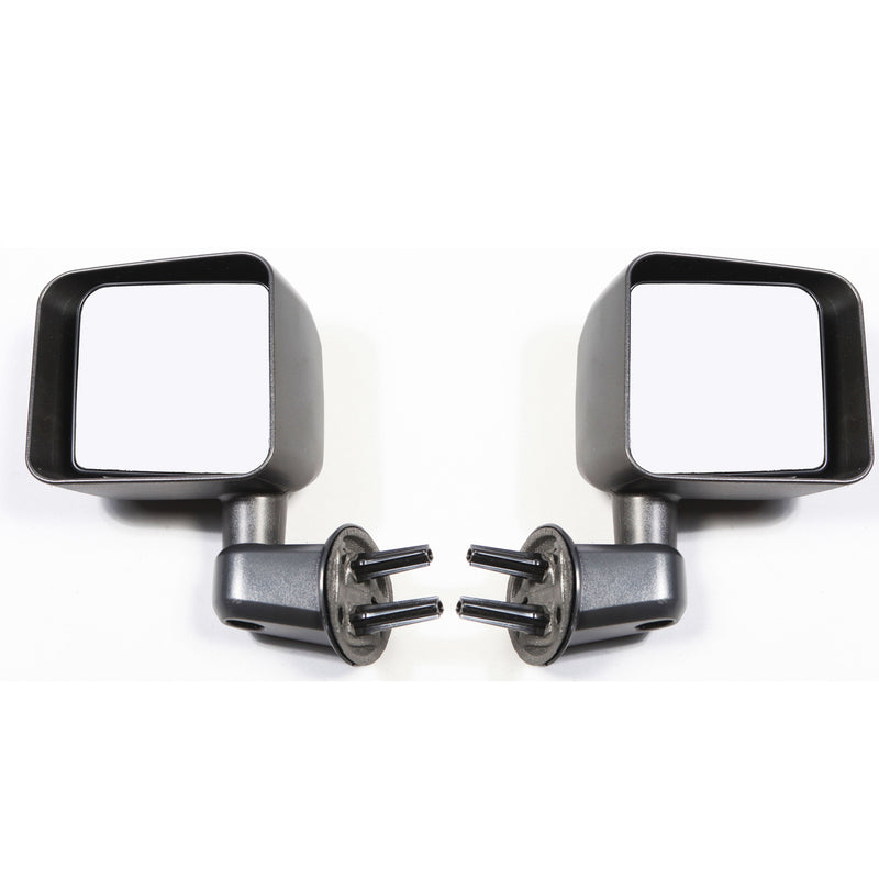 Door Mirror Kit, Black by Rugged Ridge ('07-'18 Jeep Wrangler JK)