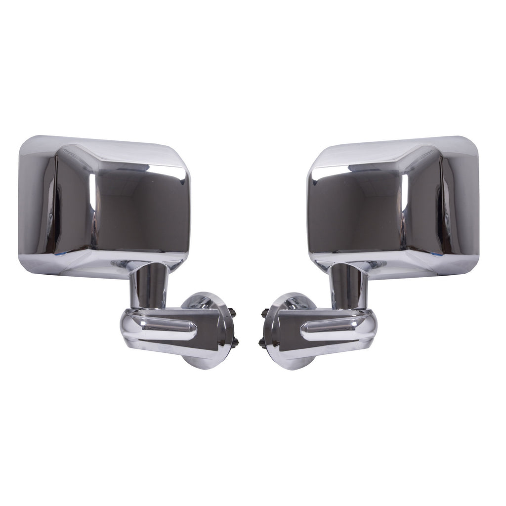 Wrangler side mirrors, chrome