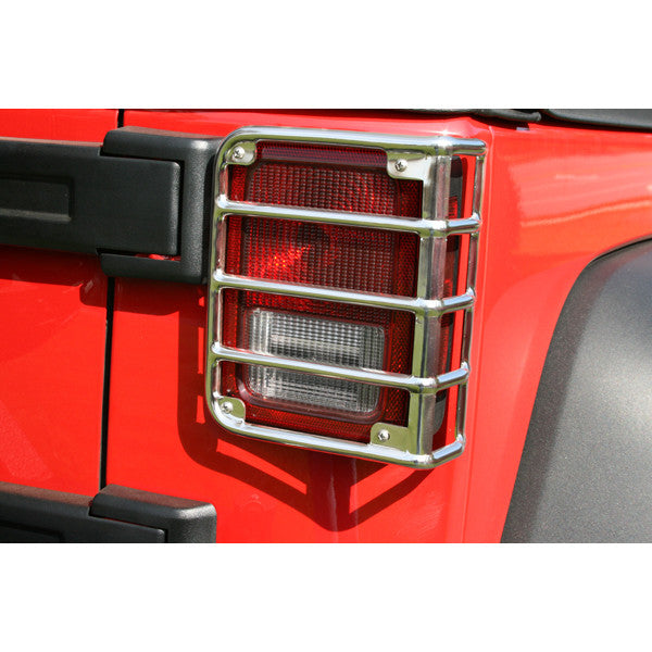 Tail Light Euro Guards by Rugged Ridge ('07-'18 Jeep Wrangler JK)