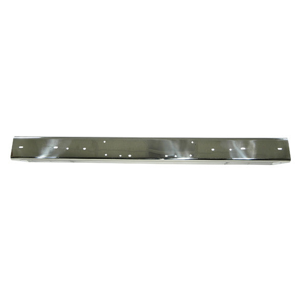Stainless Steel Front Bumper by Rugged Ridge ('87-'95 Jeep Wrangler YJ)