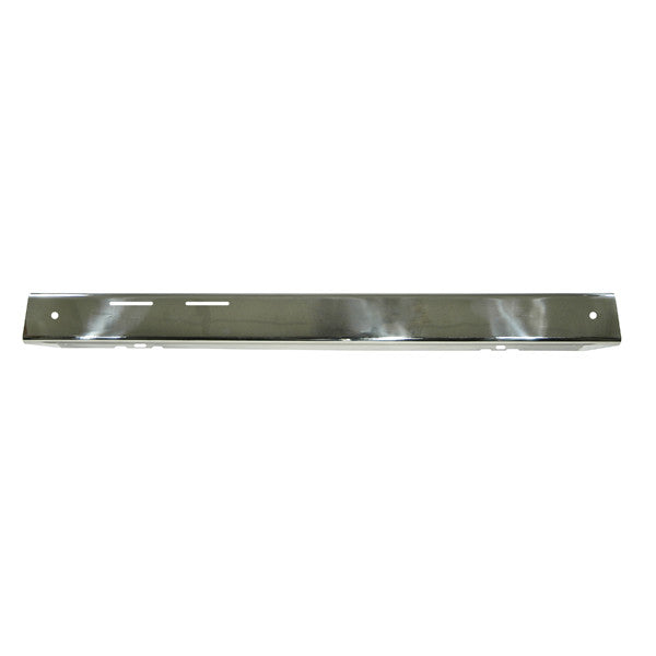 Front Bumper Overlay, Stainless Steel by Rugged Ridge ('76-'86 Jeep CJ Models)