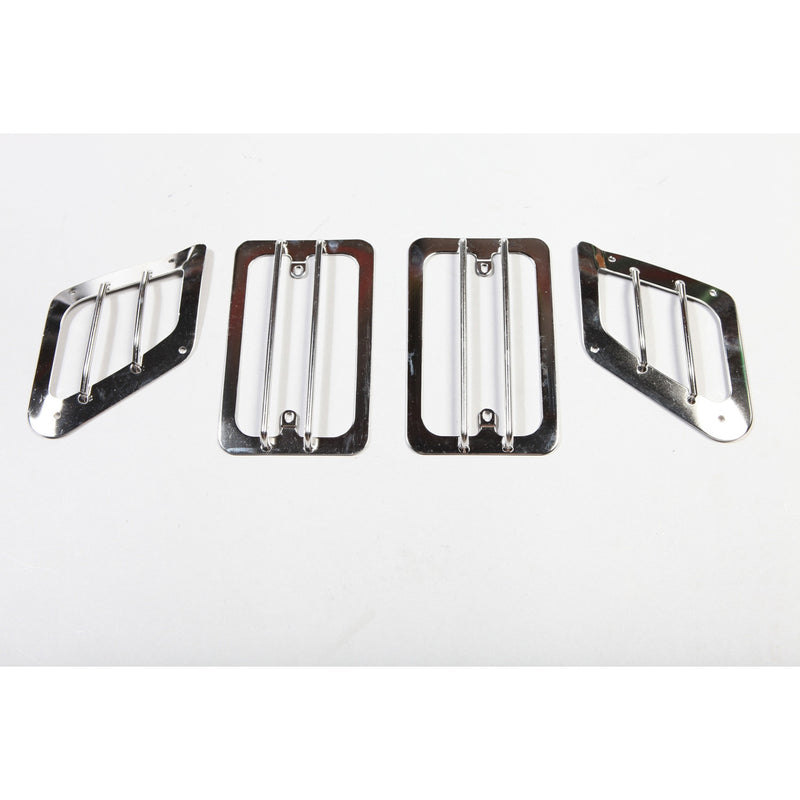 Euro Guard Set, Stainless Steel by Rugged Ridge ('97-'06 Jeep Wrangler TJ)