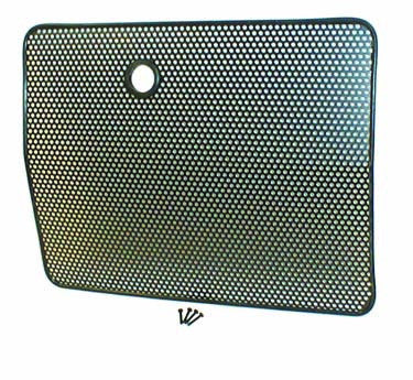 Radiator Bug Shield, Black by Rugged Ridge ('87-'95 Jeep Wrangler YJ)