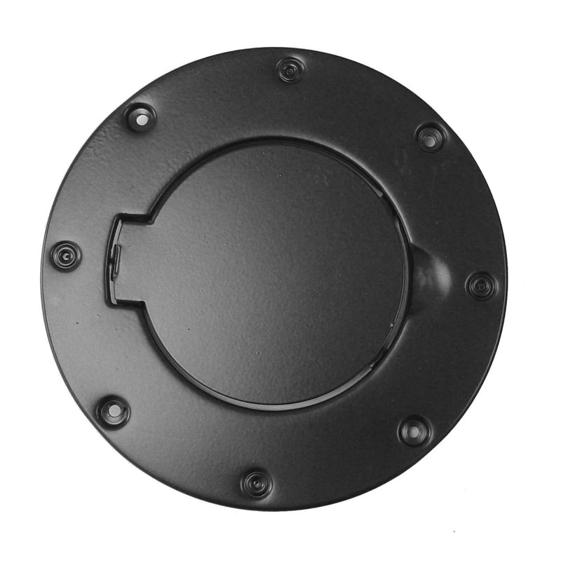 Non-Locking Gas Cap Door, Black by Rugged Ridge ('97-'06 Jeep Wrangler TJ)