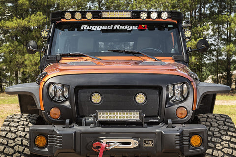 Rugged Ridge Fast Track LED Light Kits ('07-'18 Wrangler JK)