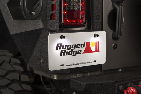 LED License Plate Bolt Kit by Rugged Ridge (Universal)