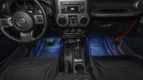 LED Courtsey Light Kit by Rugged Ridge (;07-'18 Wrangler JK/JKU/JL)