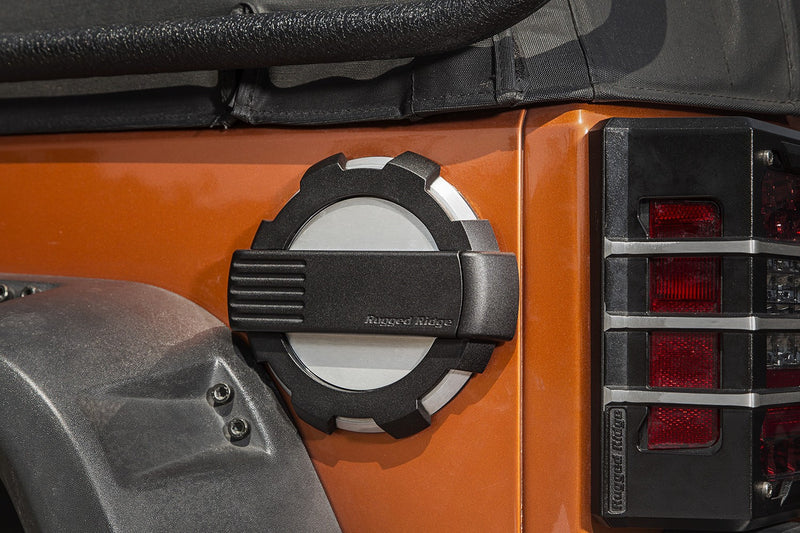 fuel door cover for Jeep Wrangler