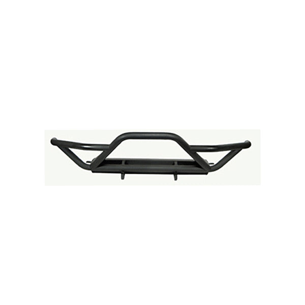 RRC Front Bumper with Grille Guard, Black by Rugged Ridge ('87-'06 Jeep Wrangler YJ, TJ)