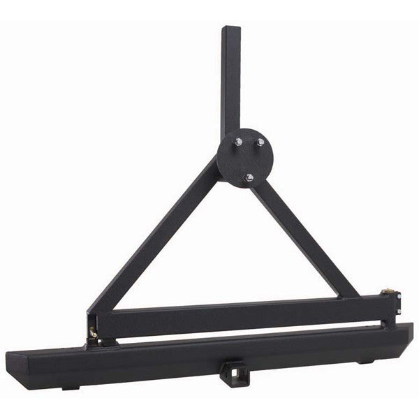 Rock Crawler Rear Bumper/Tire Carrier, Hitch by Rugged Ridge ('87-'06 Jeep Wrangler)