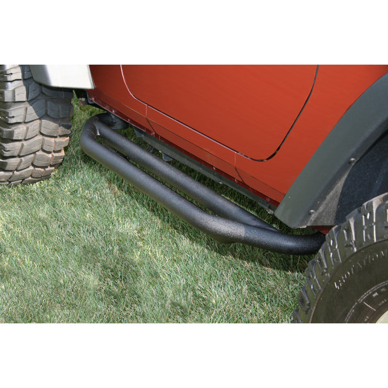 RRC Side Armor Guards by Rugged Ridge ('07-'18 Jeep Wrangler JK)