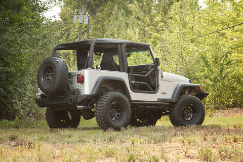 Tube Doors, Locking by Rugged Ridge ('97-'06 Jeep Wrangler TJ)