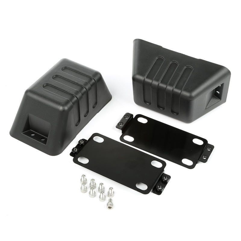 XHD Bumper Tow Point Cover by Rugged Ridge ('07-'18 Jeep Wrangler JK)