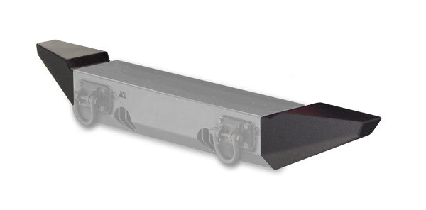 Standard Bumper Ends for XHD Front Bumper by Rugged Ridge ('76-'06 Jeep Wrangler CJ, YJ, TJ)