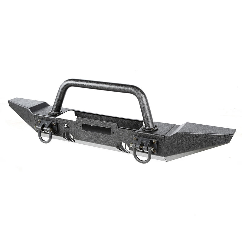 XHD Bumper Kit, Front, Over Rider/Standard by Rugged Ridge ('07-'18 Jeep Wrangler JK)