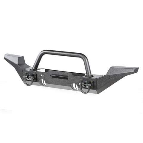 XHD Bumper Kit, Front, Over Rider/High Clearance by Rugged Ridge ('07-'18 Jeep Wrangler JK)