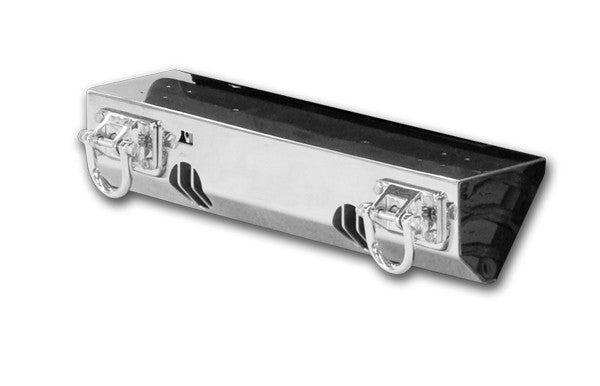 XHD Light Mount Front Bumper, Stainless Steel by Rugged Ridge ('07-'18 Jeep Wrangler JK)