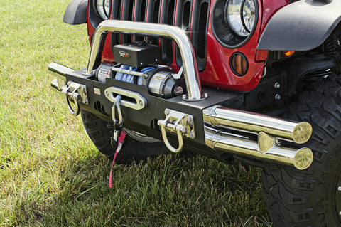 XHD Modular Tubular Ends, Stainless Steel by Rugged Ridge ('07-'18 Jeep Wrangler JK)