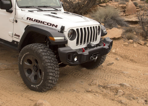 Winch Mount Plate by Rugged Ridge ('19 Wrangler JL)